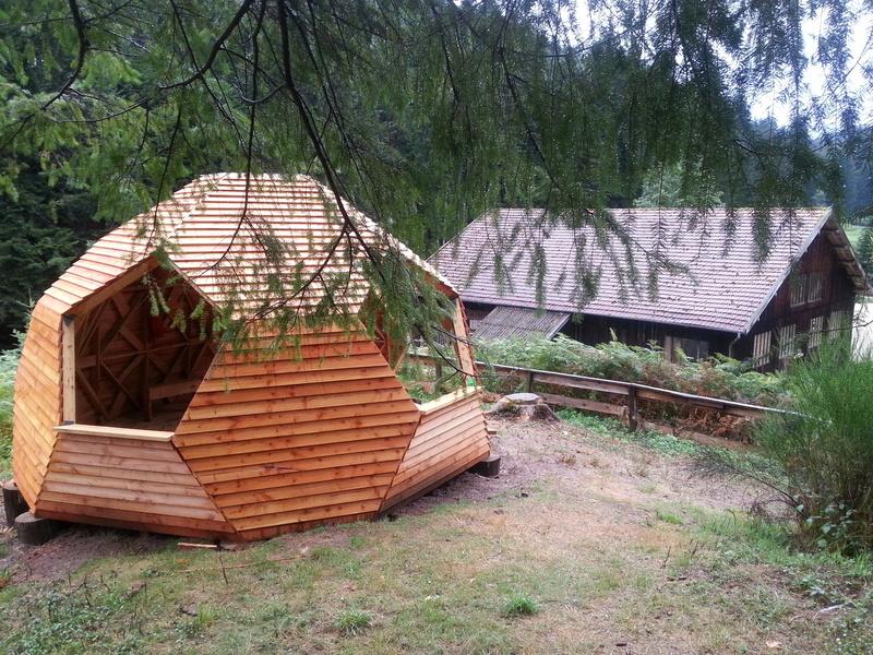 Cabanes machet production - Cabane de jardin originale ...